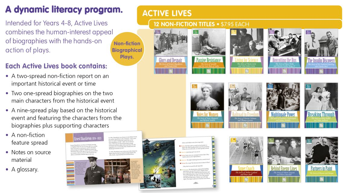 ACTIVE LIVES p106
