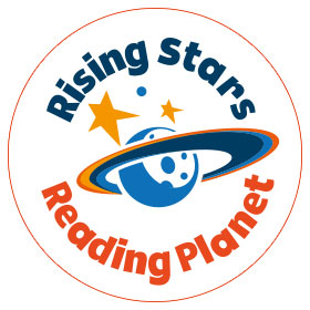 logo rising stars reading planet