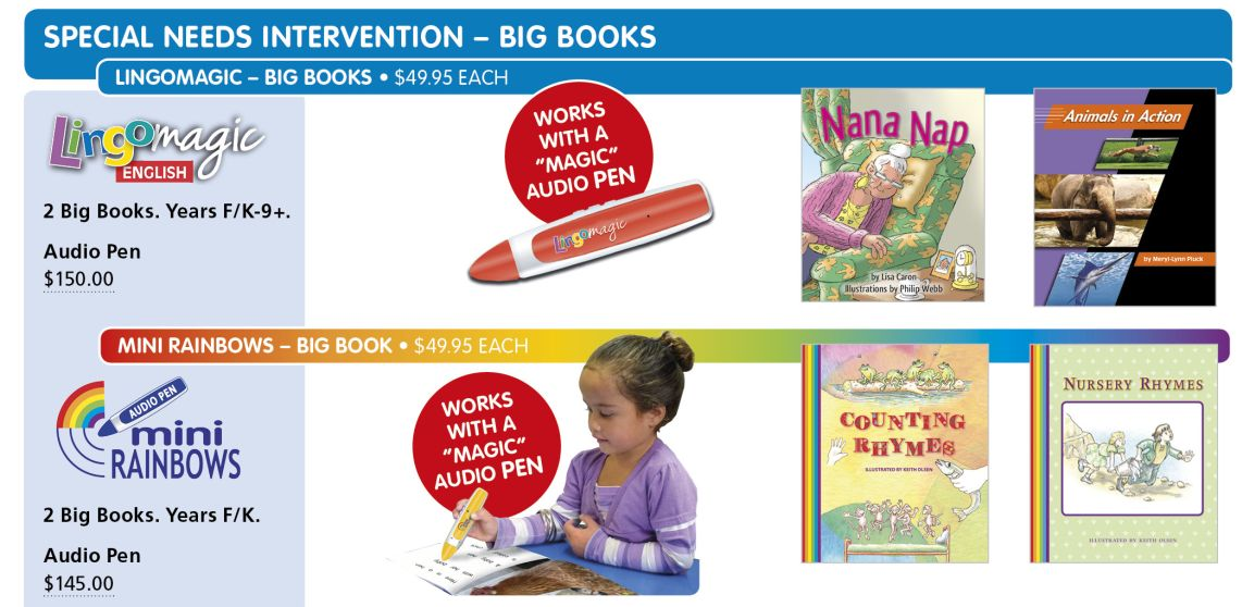 Big Books Intervention 1142 2018