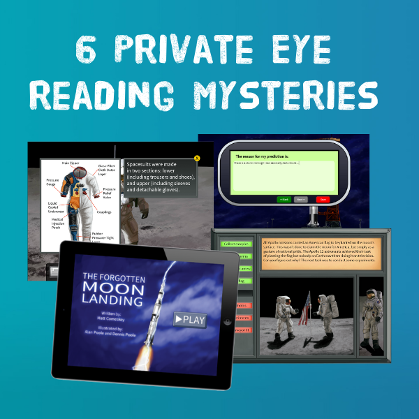 6 Private Eye Reading Mysteries