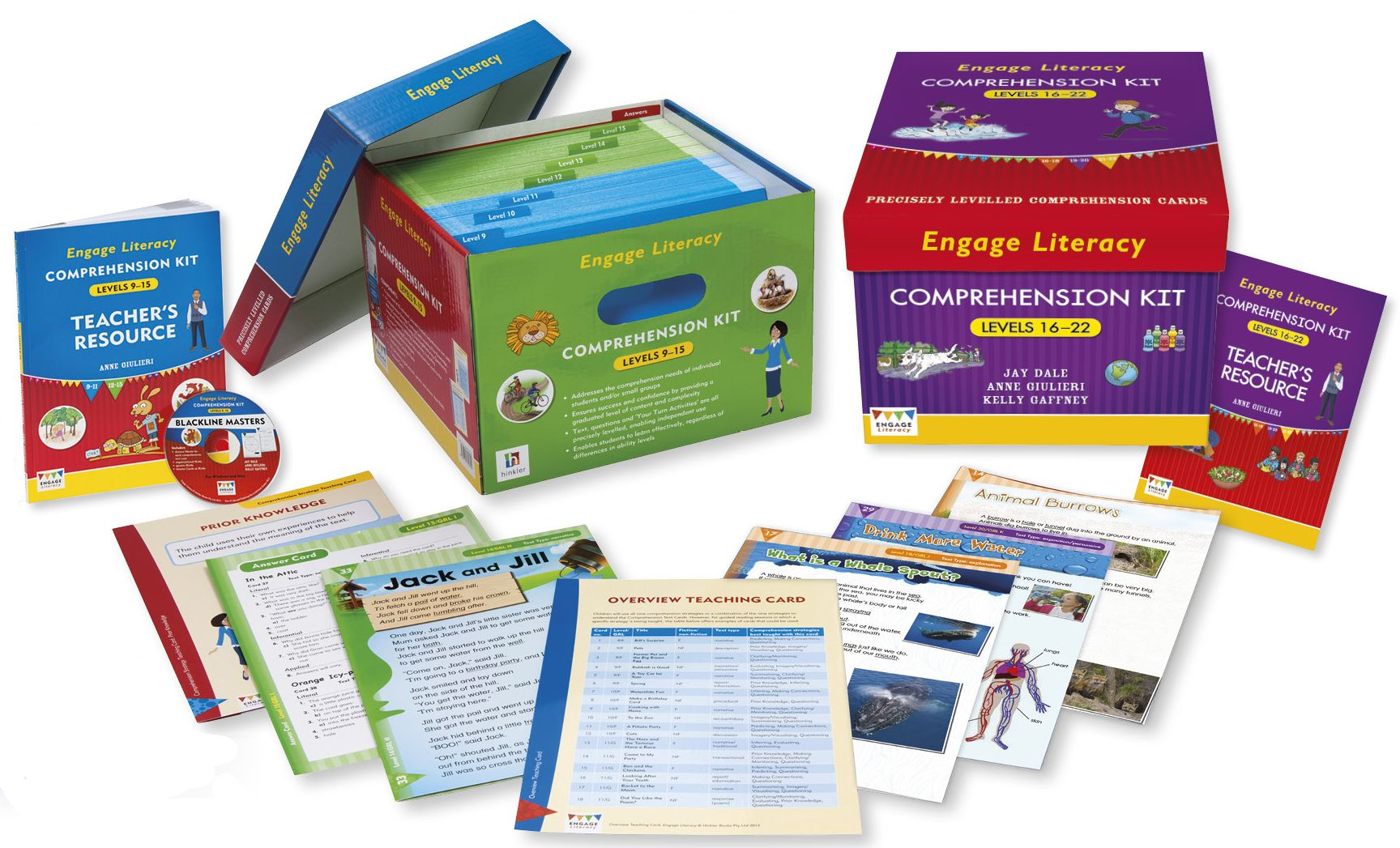 Engage Comprehension kit 16 22