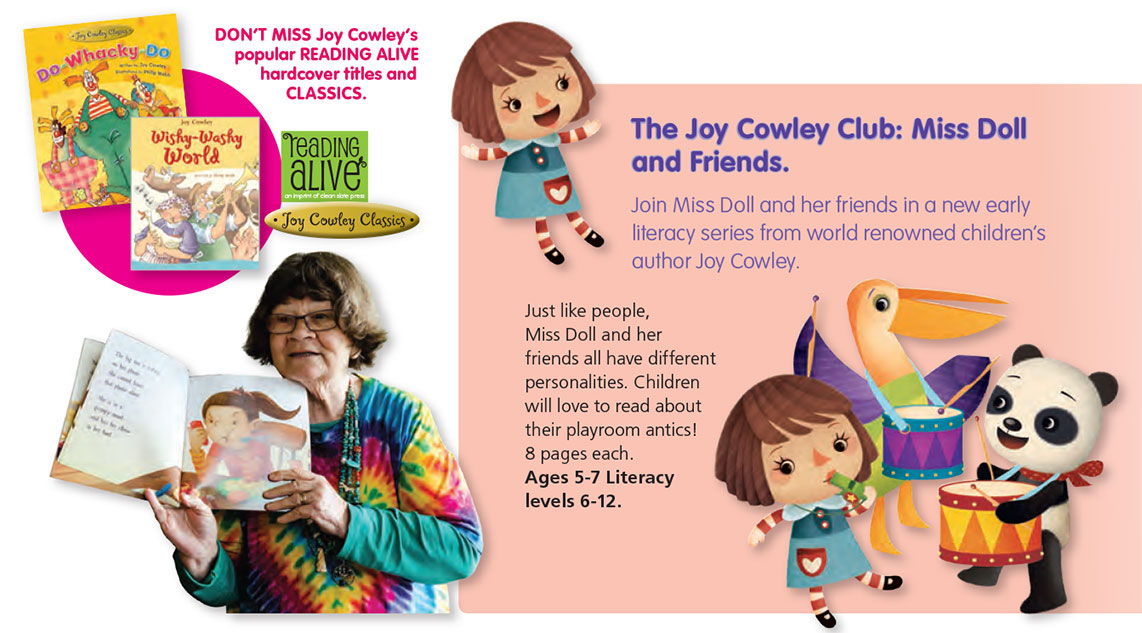joy cowley club miss doll and friends