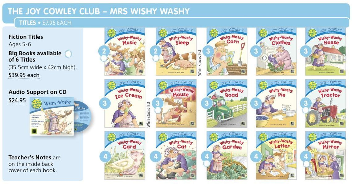 Joy Cowley Club Mrs Wishy Washy p087