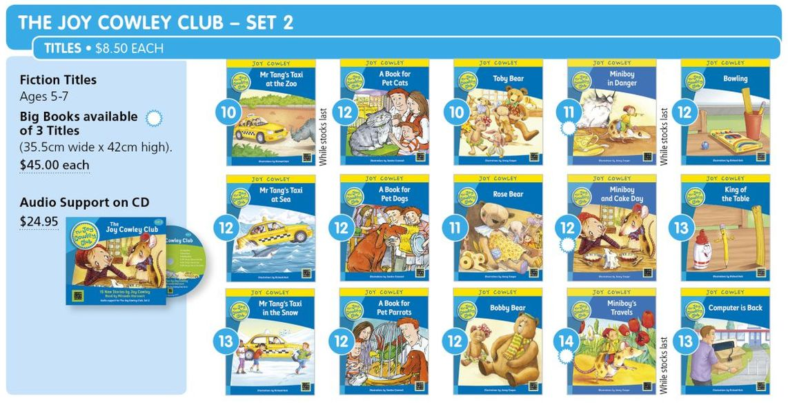Joy Cowley Club Set 2