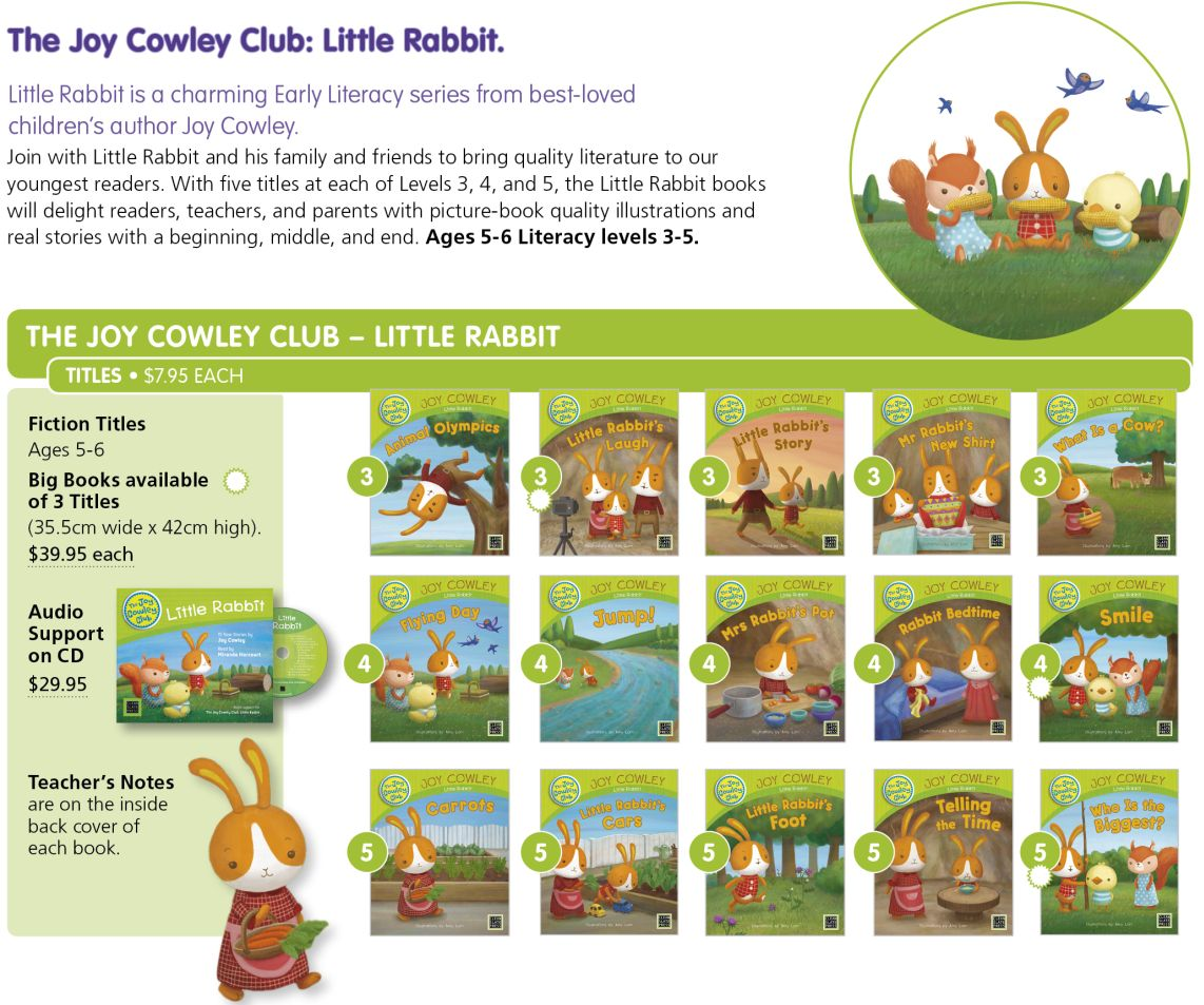 Joy Cowley Little Rabbit p089