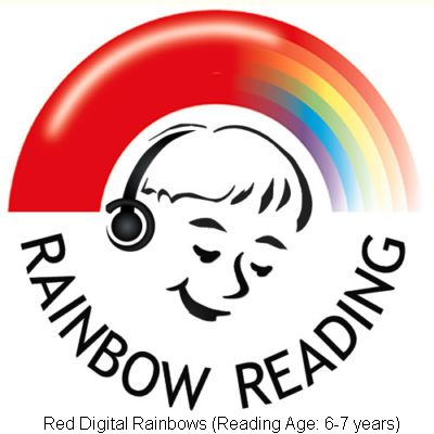 Red Digital Rainbows (Reading Ages 6-7 years)