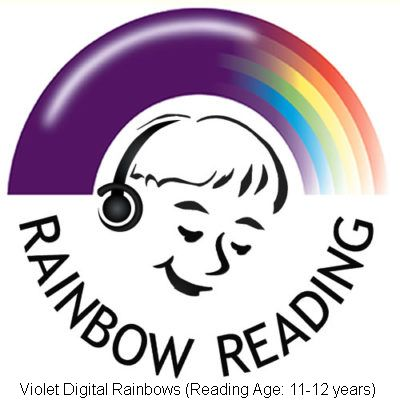 Violet Digital Rainbows (Reading Ages 11-12 years)