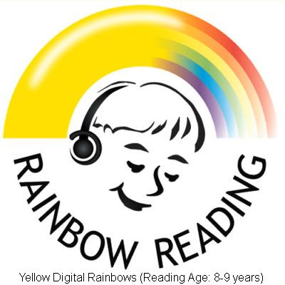 Yellow Digital Rainbows (Reading Ages 8-9 years)