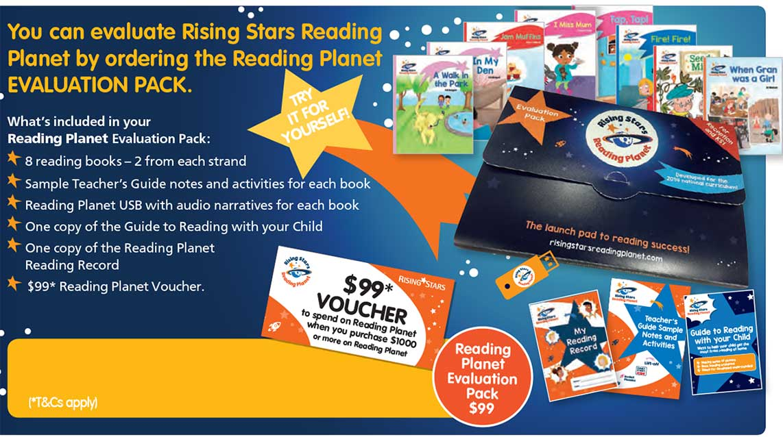 rising stars reading planet evaluation pack