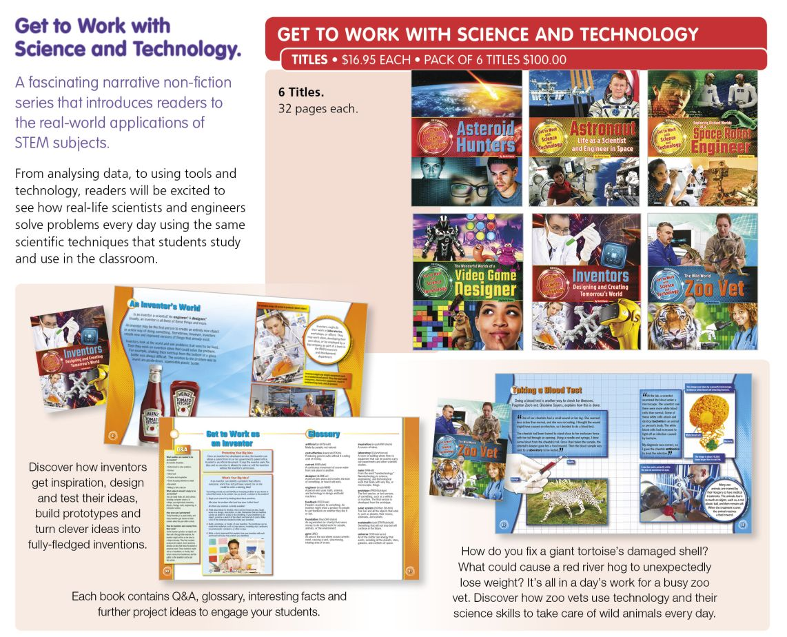 Get to work with Science &i p152