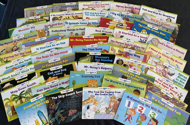 Learn to Read take home pack 2